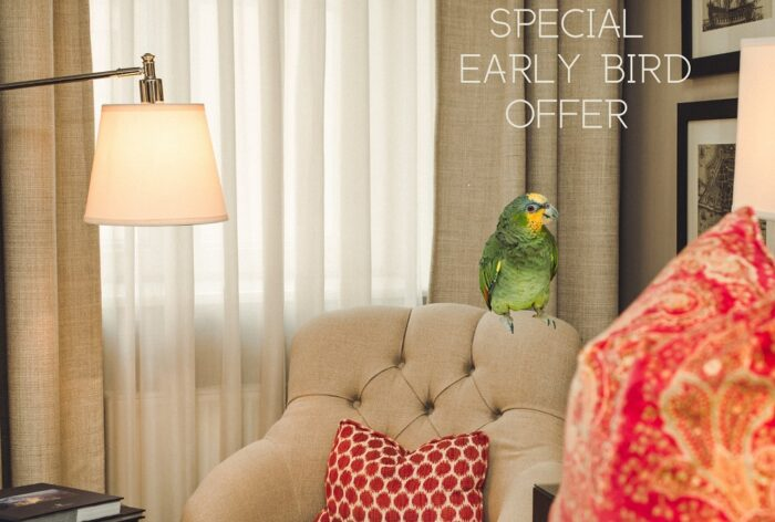 Early Bird Offer | 15% discount from the daily rate